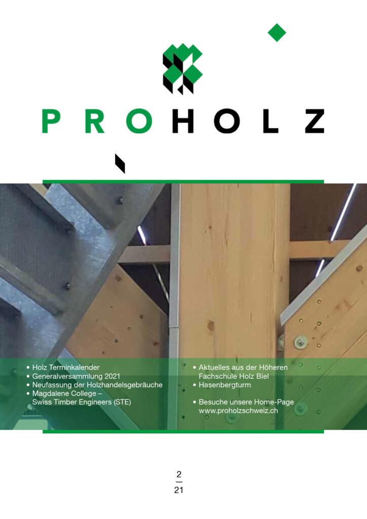 Zeitschrift ProHolz 2021/2